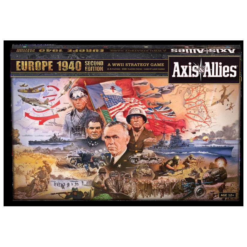 Axis & Allies Europe 1940 Second Edition
