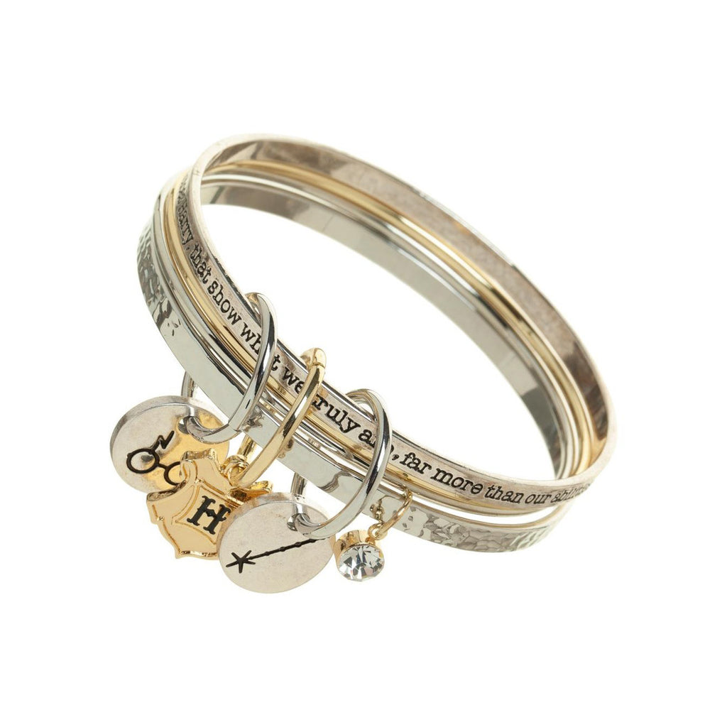 Harry Potter Multi Bangle Charm Bracelet