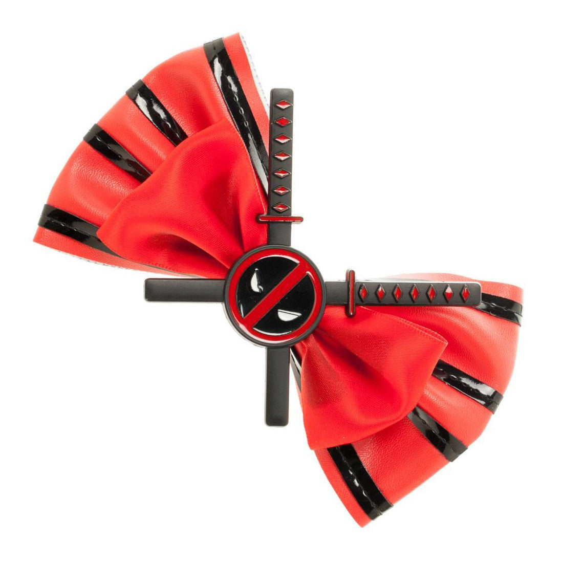 Deadpool Cosplay Hair Bow