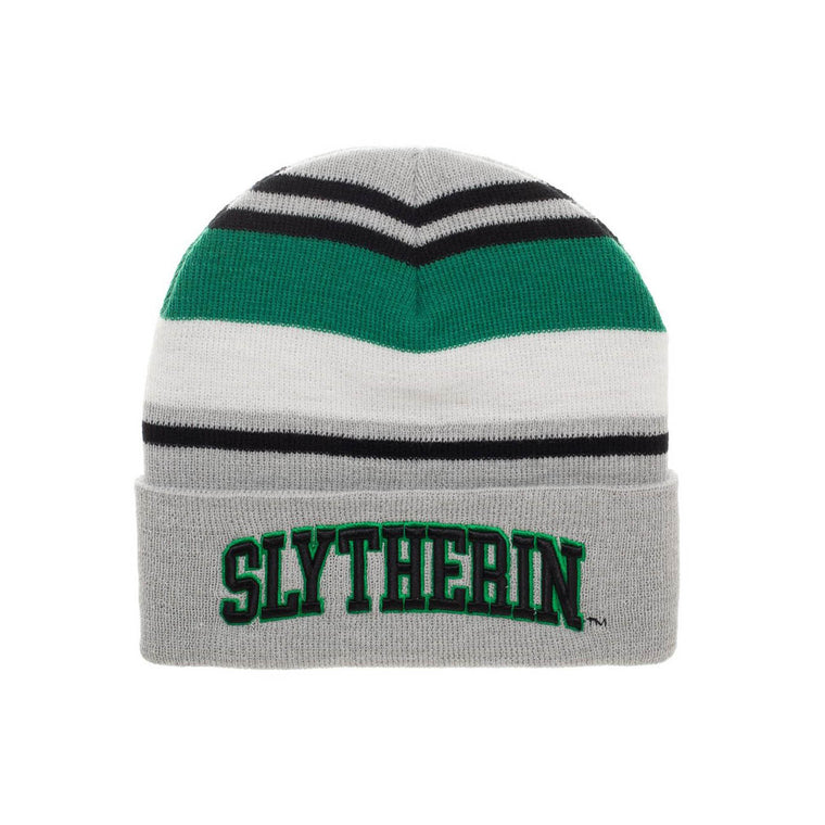 Harry Potter Slytherin Cuff Beanie