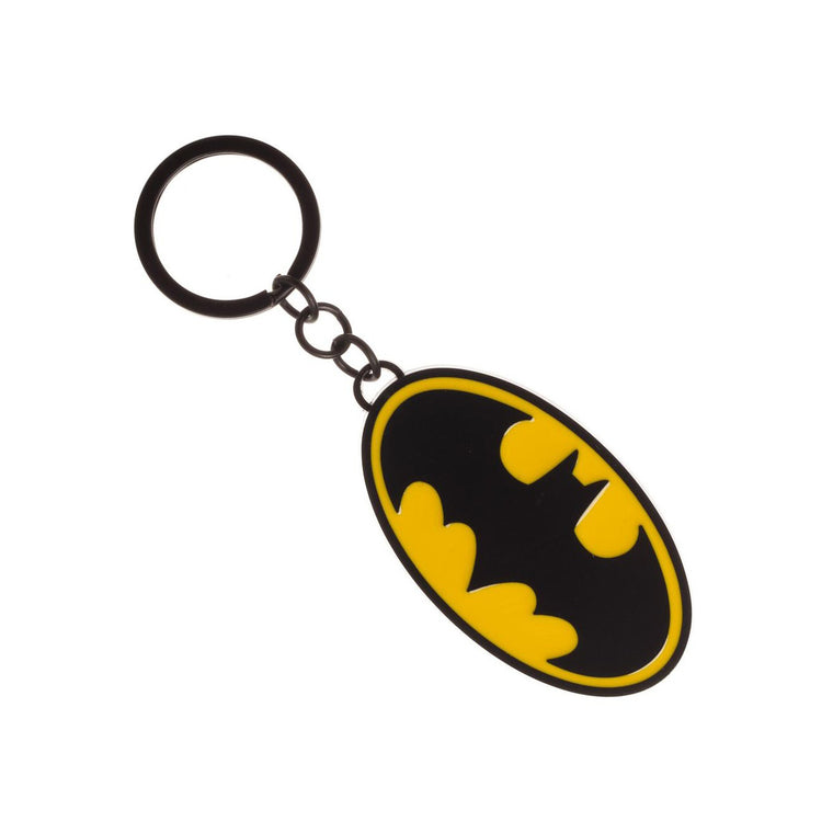 DC Comics Batman Logo Metal Keychain
