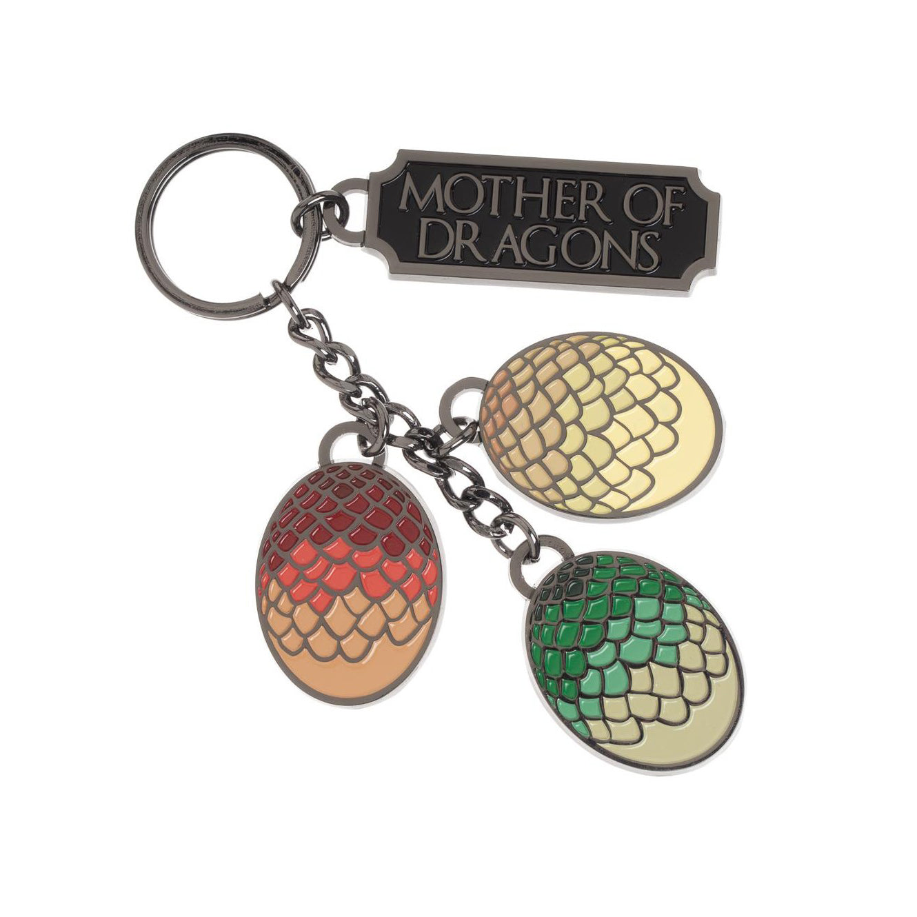 Game of Thrones Mother of Dragons Charm Keychain