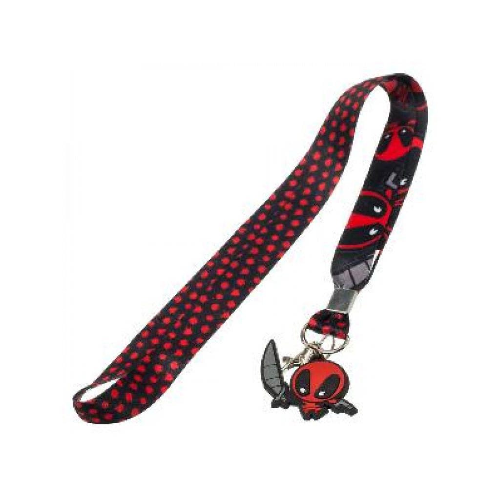 Marvel - Deadpool Kawaii - Lanyard with Charm