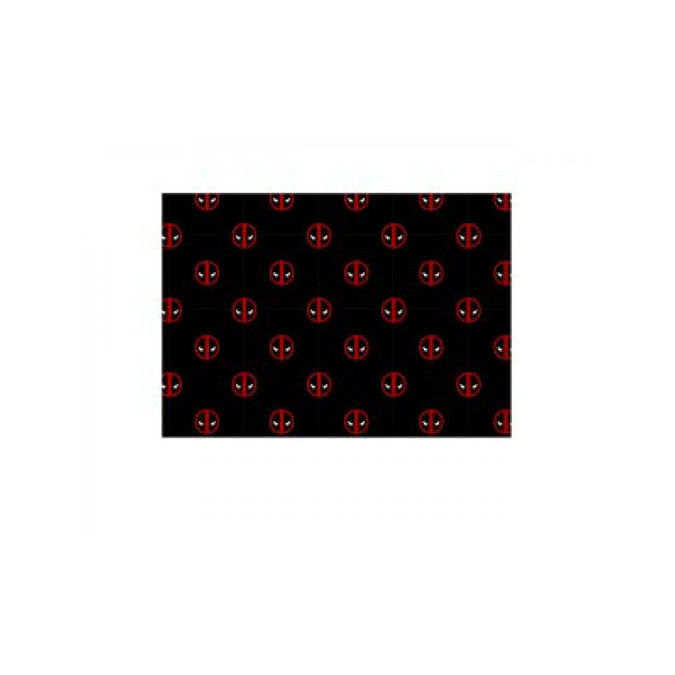 Marvel Deadpool Logo All Over Infinity Viscose Scarf
