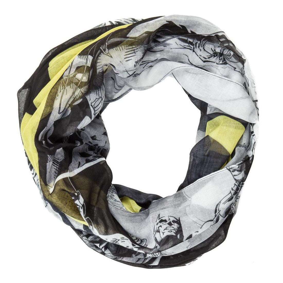 Batman Logo Allover Infinity Scarf