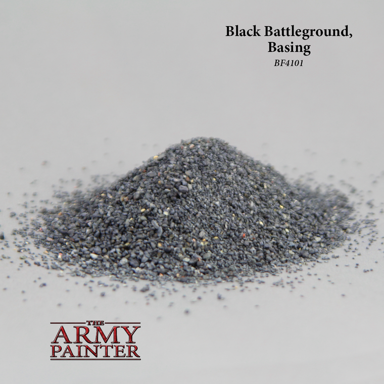 Battlefields BLACK BATTLEGROUND SAND 150 ml
