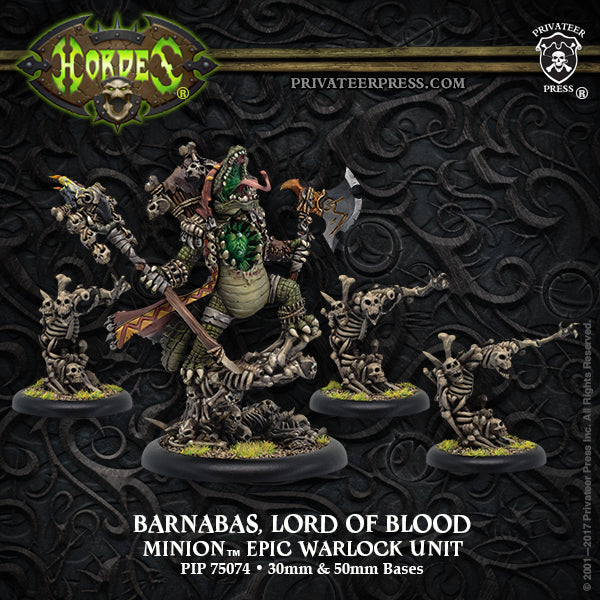 Hordes Minions Barnabas, Lord of Blood