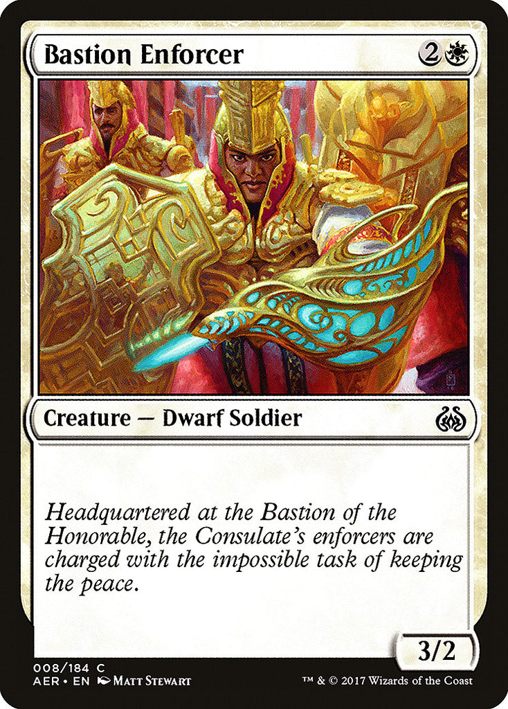 Aether Revolt Bastion Enforcer