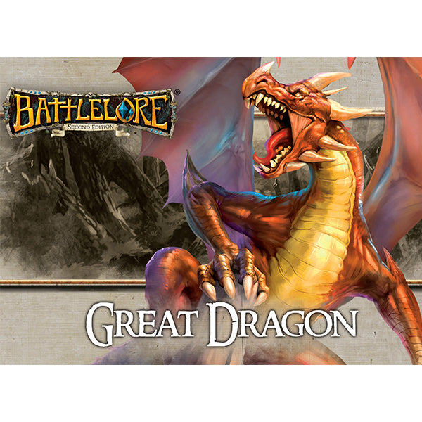 BattleLore 2nd Edition Great Dragon Reinforcement Pack