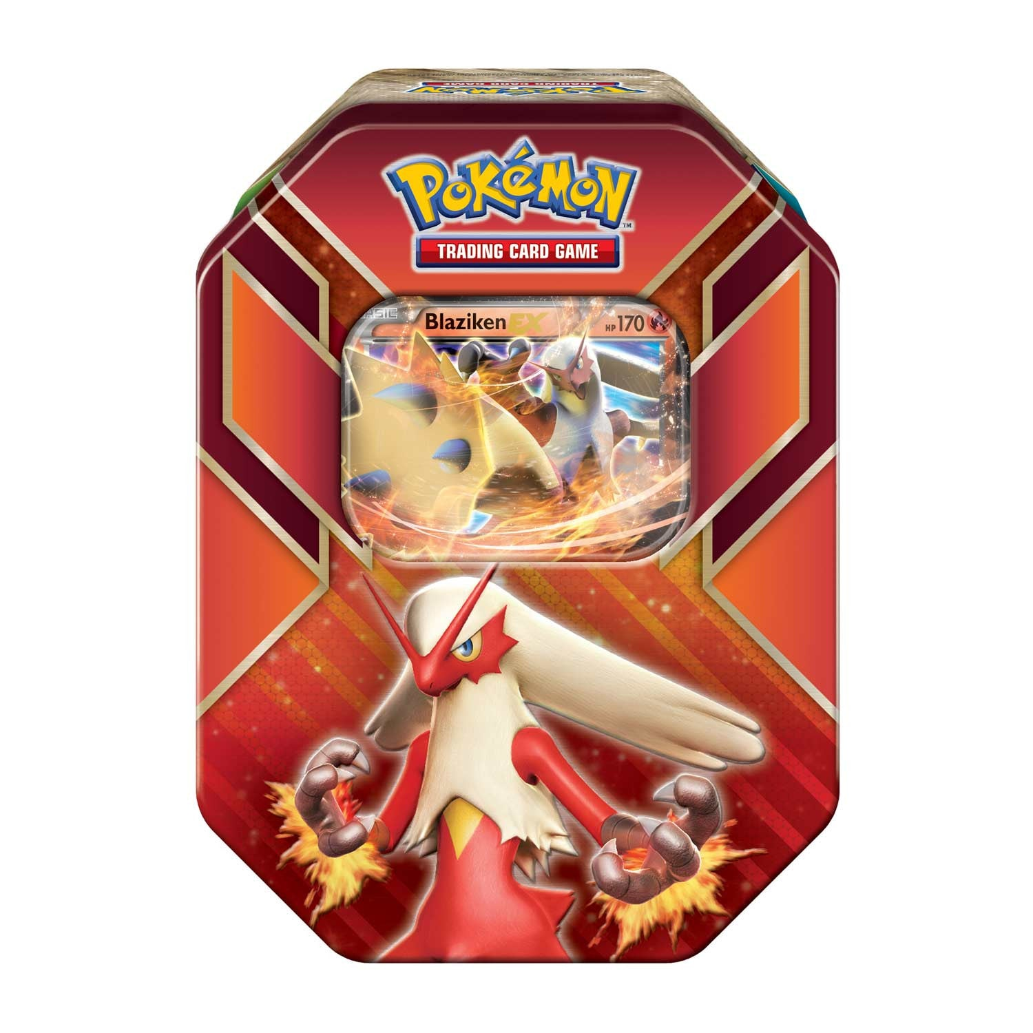 Pokémon Hoenn Power Blaziken EX Tin Summer 2015