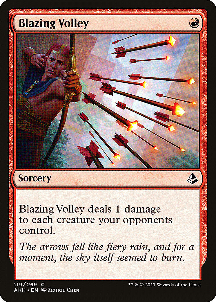 Amonkhet Blazing Volley FOIL