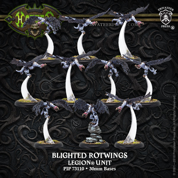 Hordes Legion of Everblight Blighted Rotwings