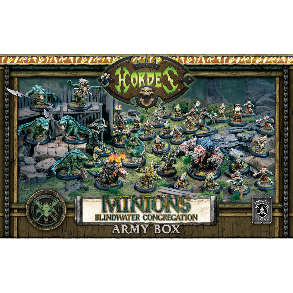 Hordes Minions Blindwater Congregation Army Box