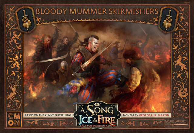 A Song of Ice and Fire: Tabletop Miniatures Game – Bloody Mummers Skirmishers