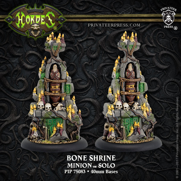 Hordes Minions Bone Shrine