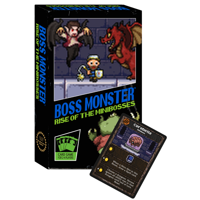 Boss Monster Rise of the Minibosses