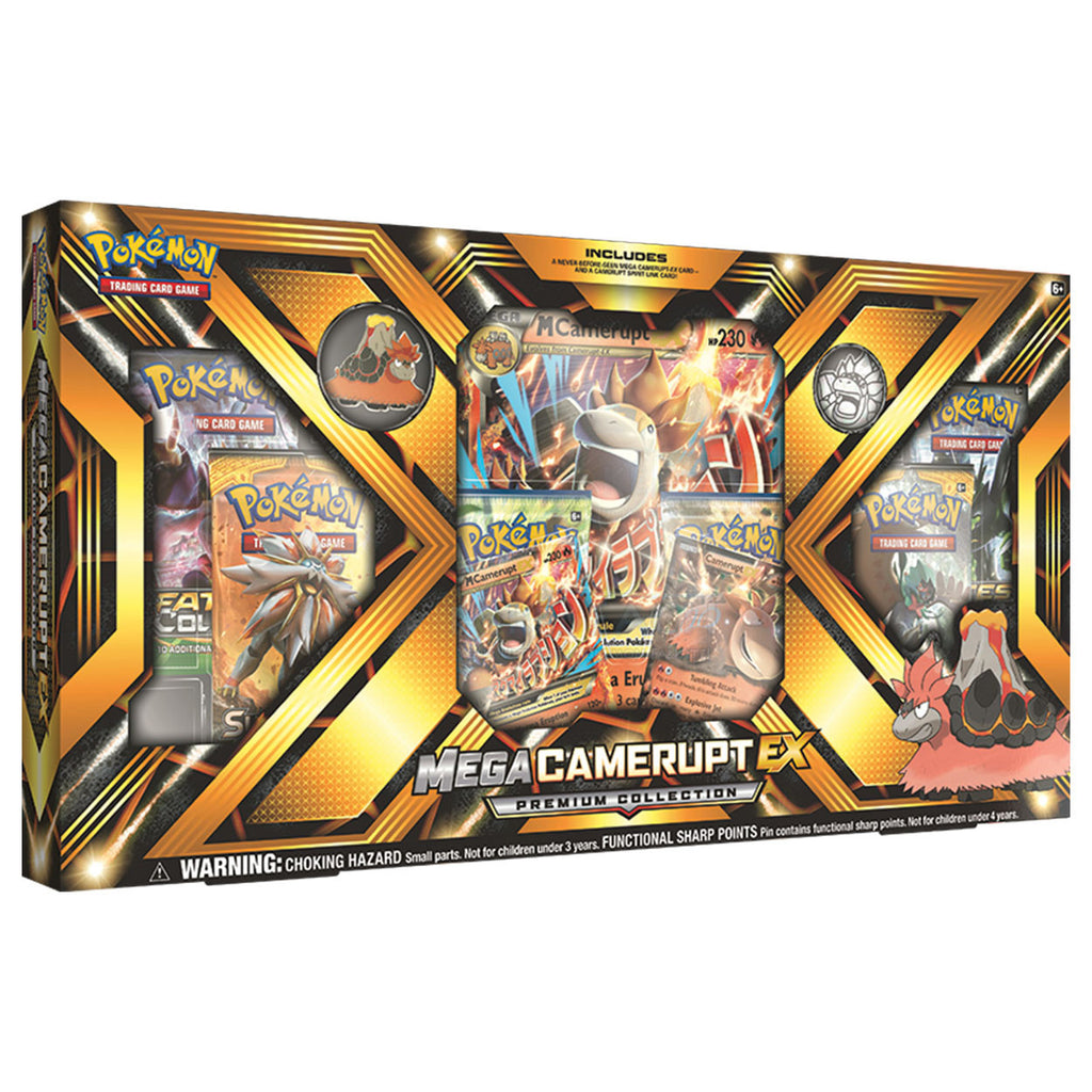 Pokémon Mega Camerupt EX Premium Collection