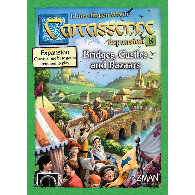 Carcassonne Bridges, Castles & Bazaars Expansion 8 New Edition