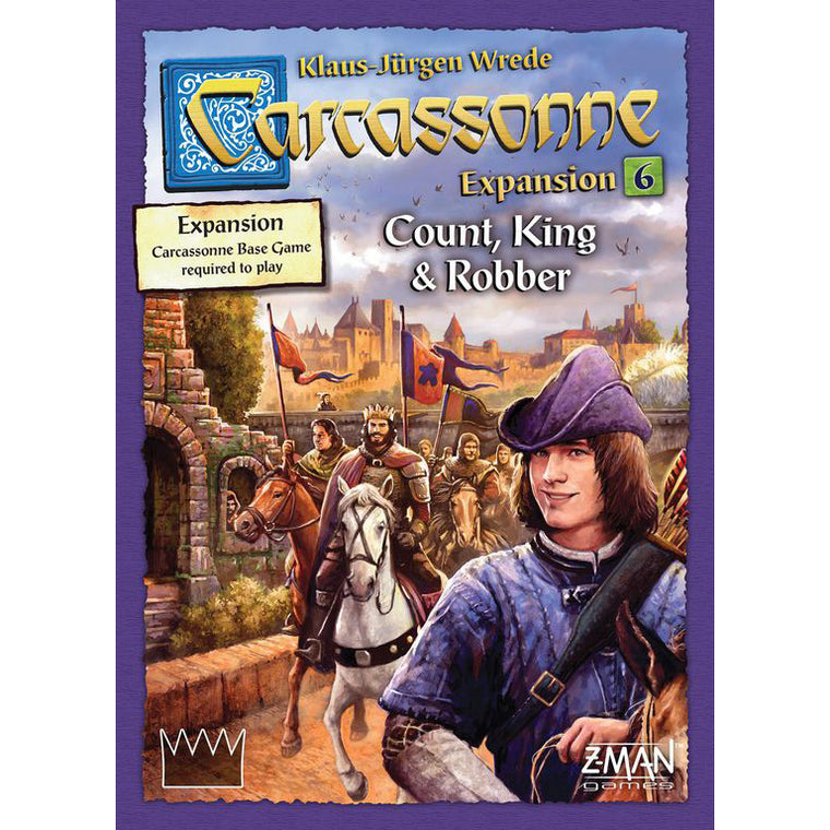 Carcassonne Count, King, & Robber Expansion 6 New Edition