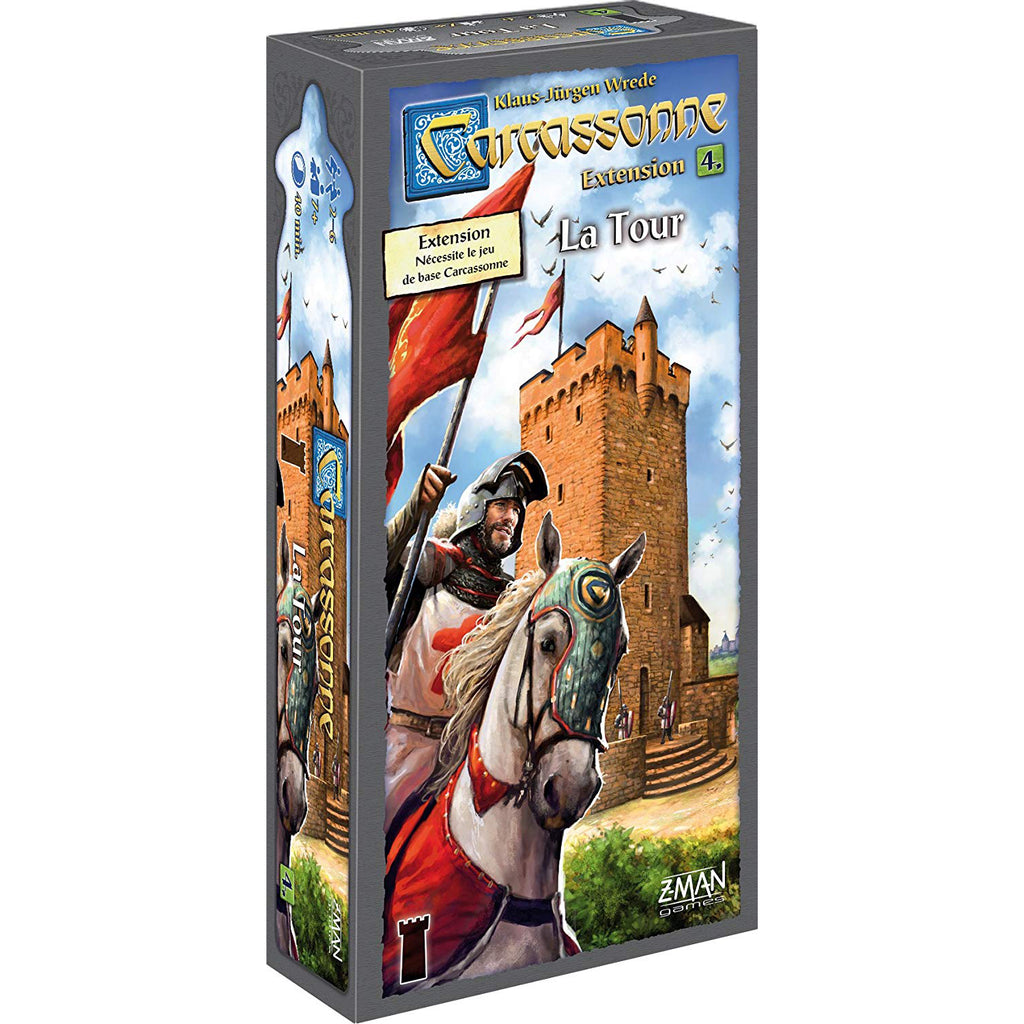 Carcassonne: Extension 4 - La Tour FR
