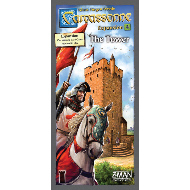 Carcassonne The Tower Expansion 4 New Edition