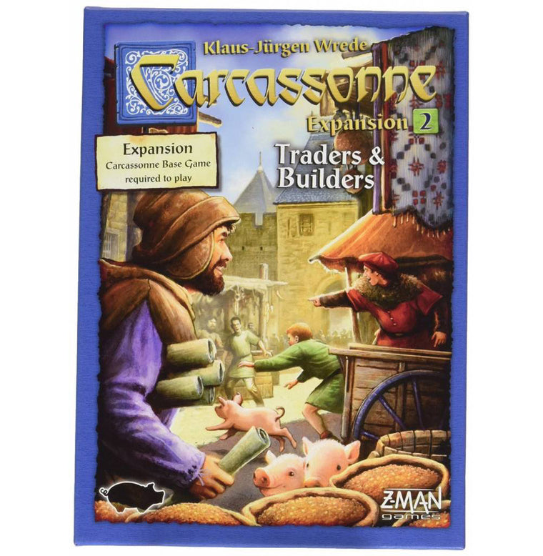 Carcassonne Traders & Builders Expansion 2 New Edition