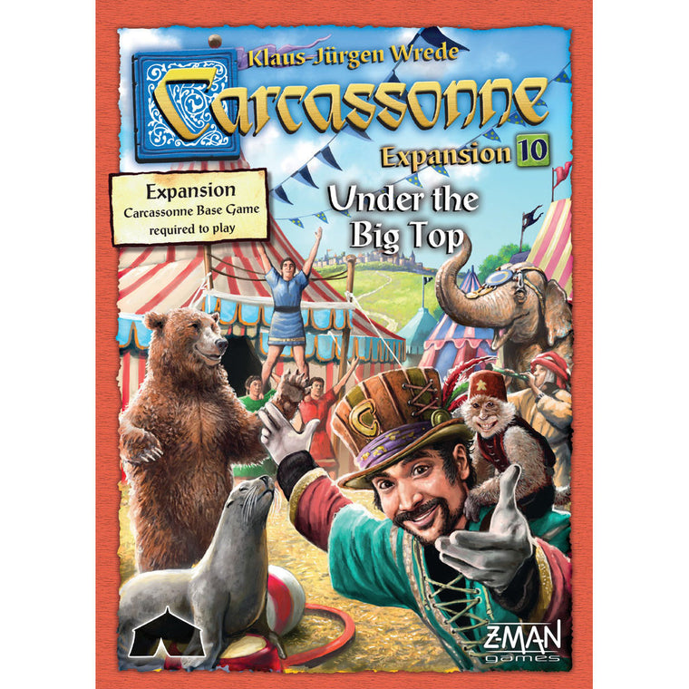 Carcassonne Under the Big Top Expansion 10 New Edition