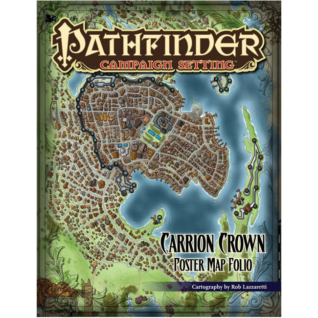 Pathfinder Campaign Setting Carrion Crown Poster Map Folio