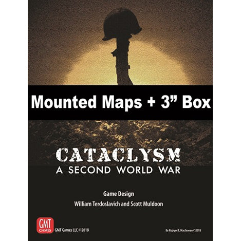 Cataclysm: A Second World War Mounted Maps and 3