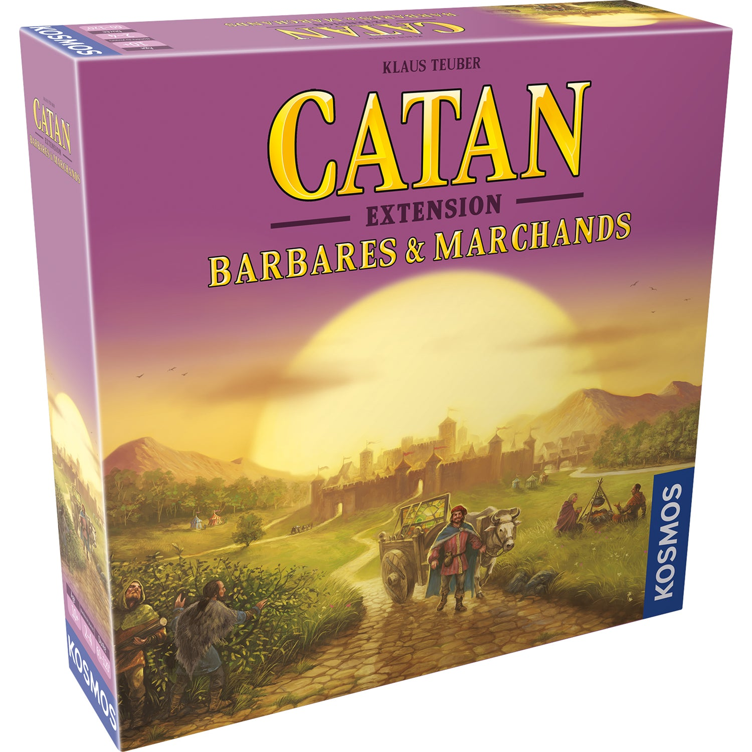 Catan: Barbares & Marchands FR