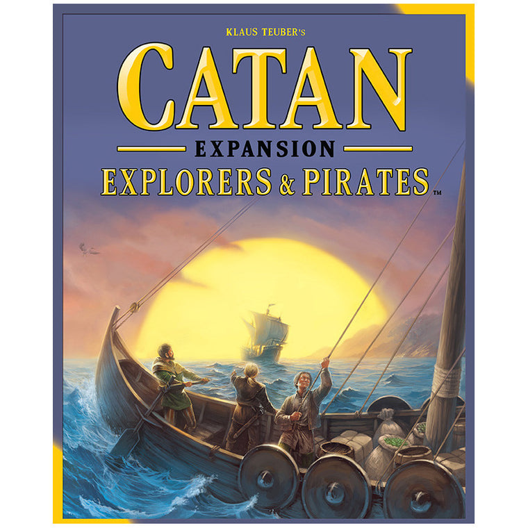 Catan 5th Edition Explorers & Pirates