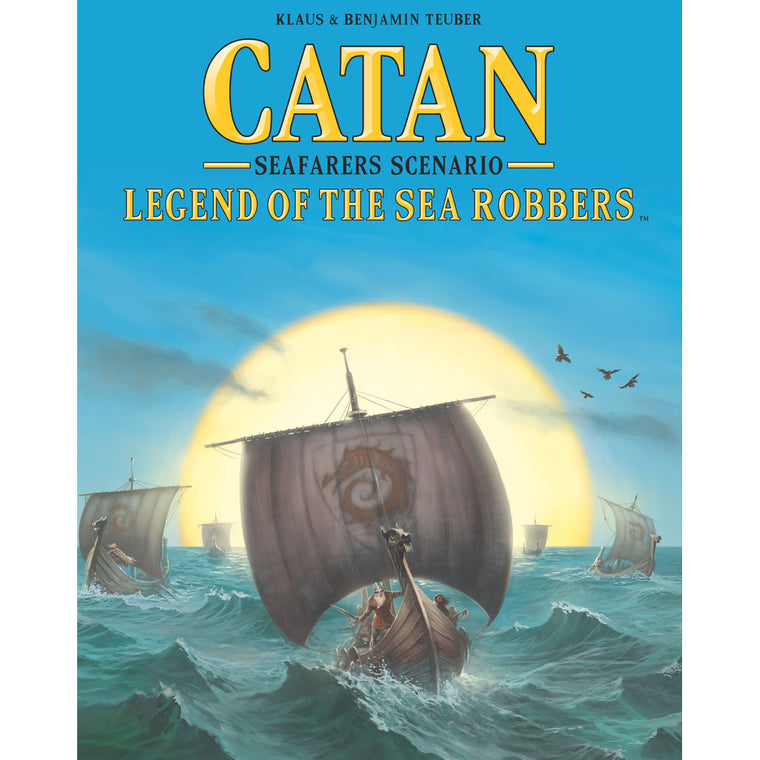 Catan 5th Edition Legend Of The Sea Robbers