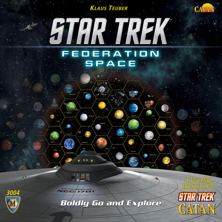 Catan Star Trek Federation Space Map Set