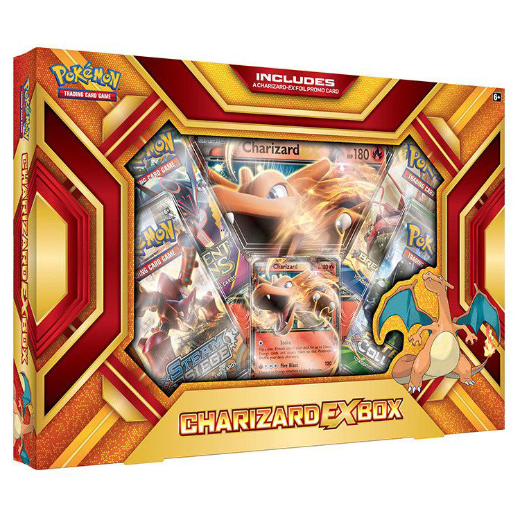 Pokémon Charizard EX Fire Blast Box