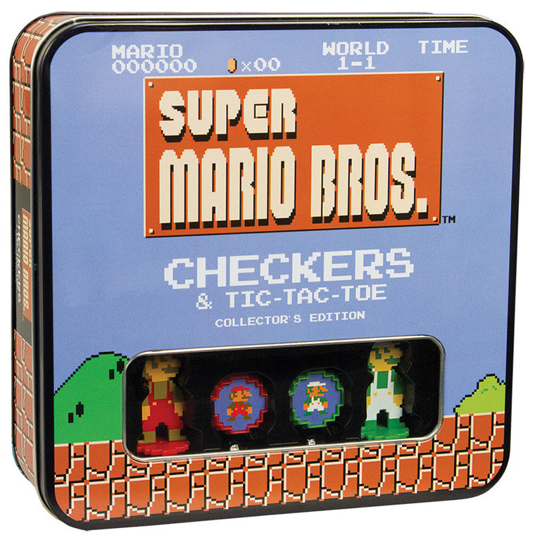 Checkers & Tic-Tac-Toe Super Mario Bros. 8-Bit