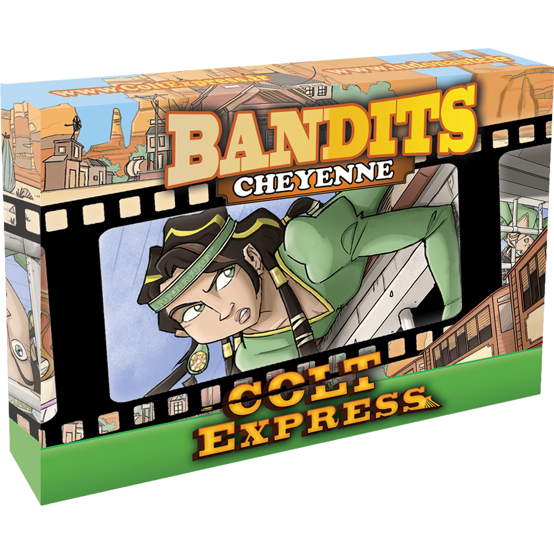Colt Express Bandit Pack Cheyenne Expansion