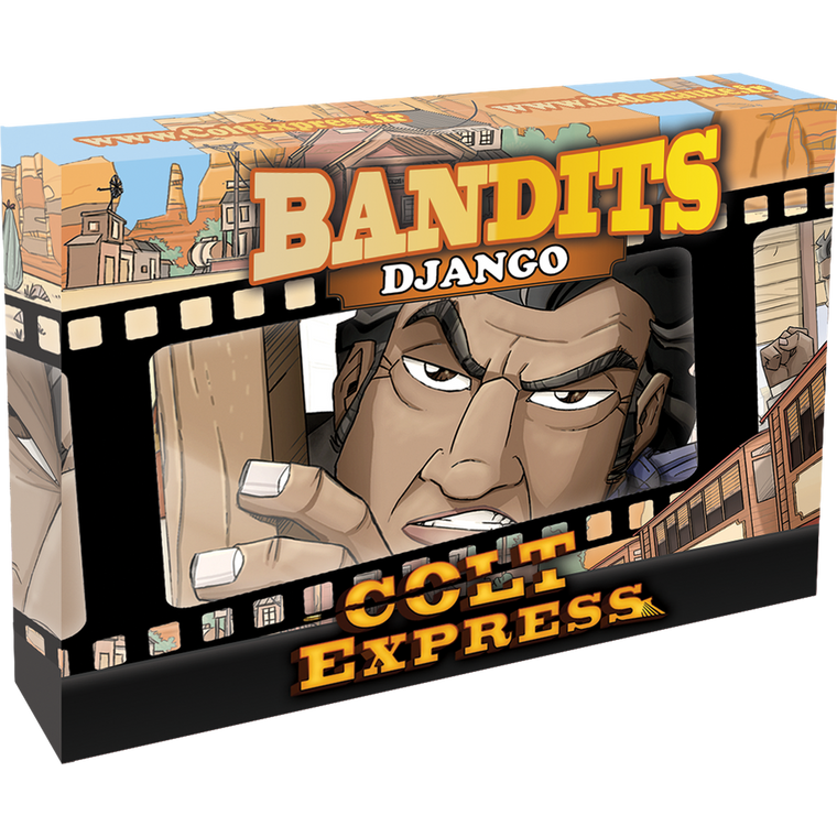 Colt Express Bandit Pack Django Expansion