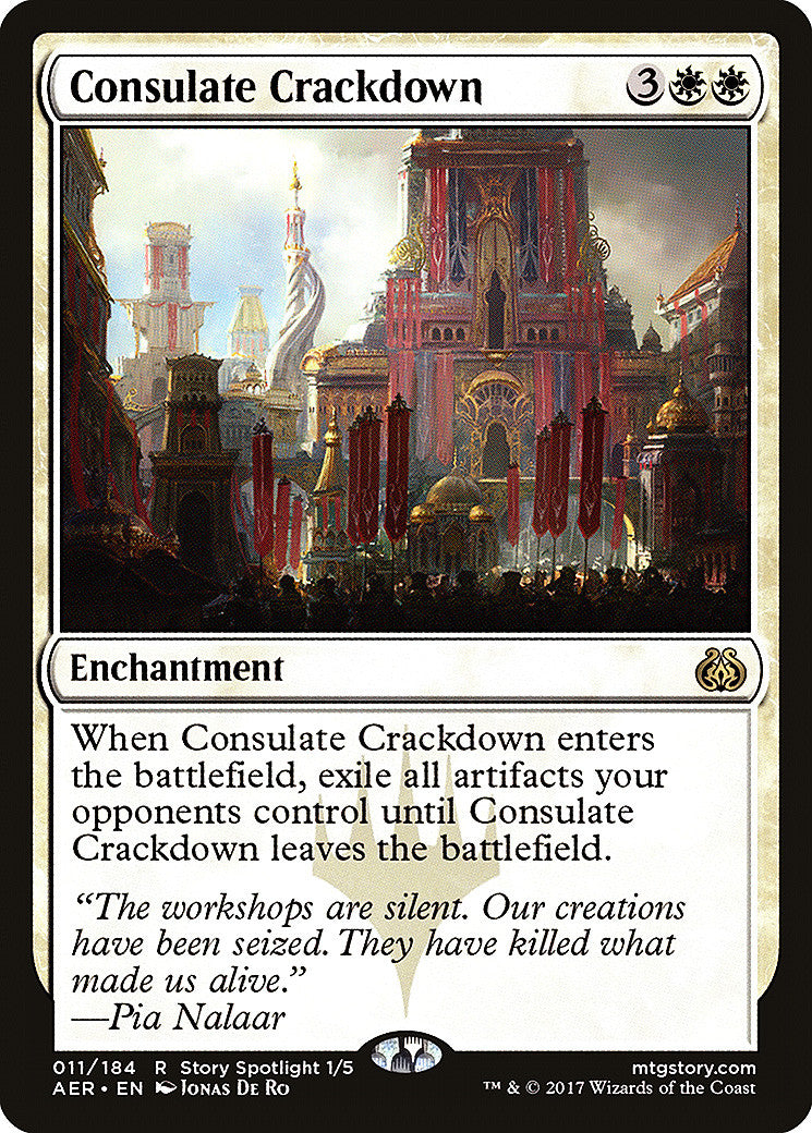 Aether Revolt Consulate Crackdown