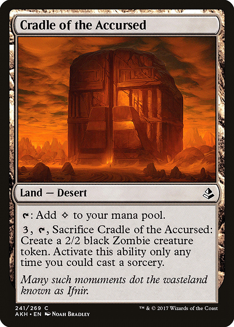 Amonkhet Cradle of the Accursed