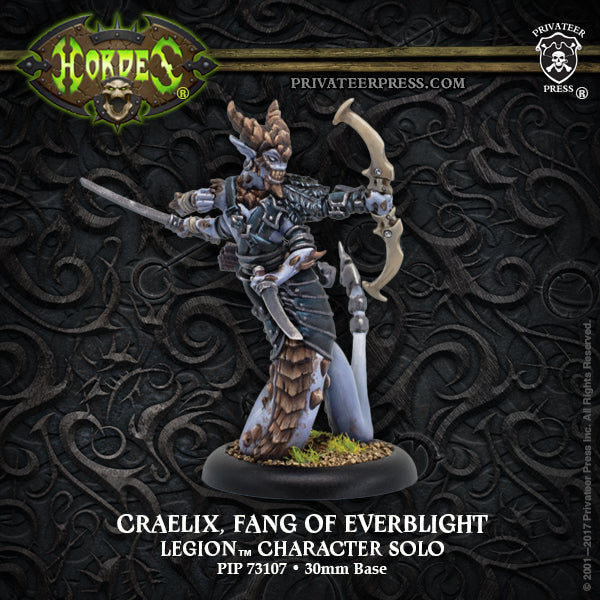 Hordes Legion of Everblight Craelix, Fang of Everblight