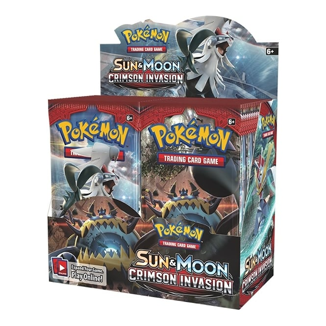 Pokémon Sun & Moon Crimson Invasion Booster Box