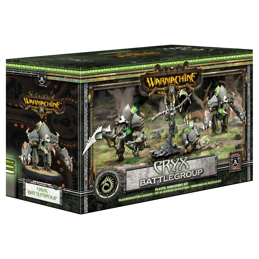 Warmachine Cryx Battlegroup