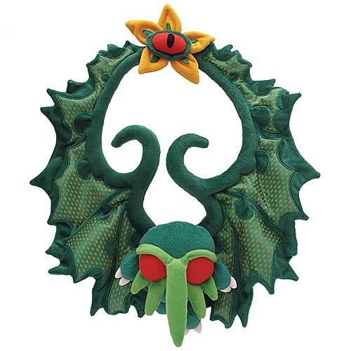 Cthulhu Christmas Wreath Plush