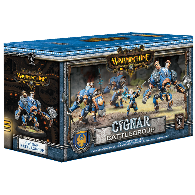 Warmachine Cygnar Battlegroup