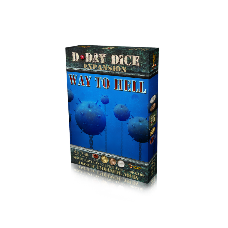 D-Day Dice Second Edition Way to Hell