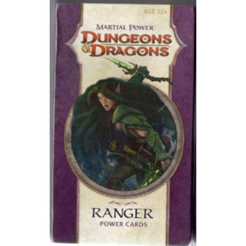 Dungeons & Dragons 4th Edition Ranger Power Cards