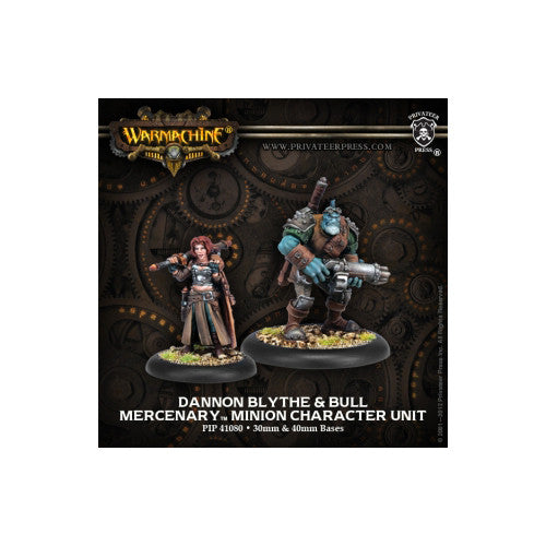 Warmachine Mercenaries Dannon Blythe & Bull
