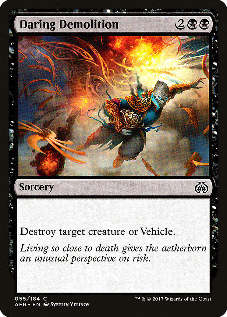 Aether Revolt Daring Demolition
