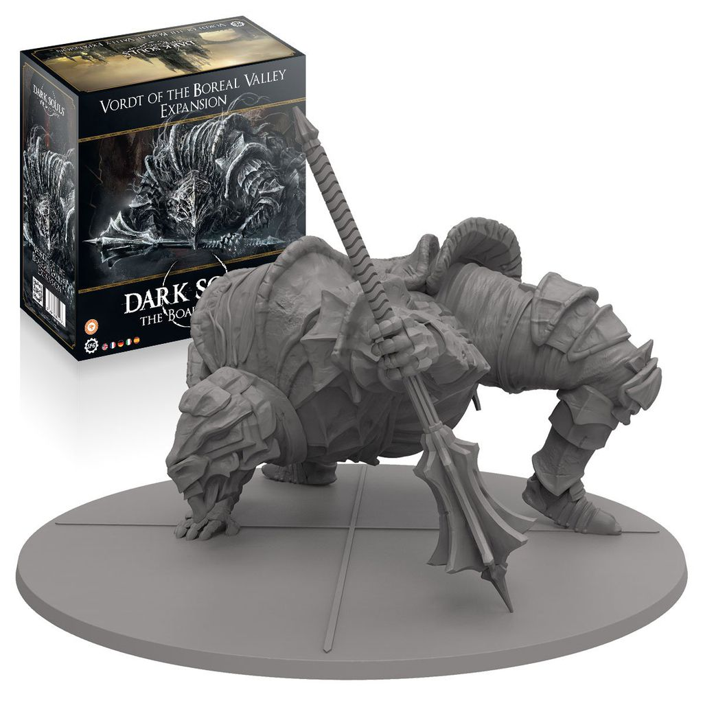 Dark Souls The Game Vordt of the Boreal Valley Boss Expansion