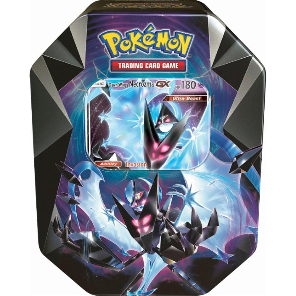 Pokémon Dawn Wings Necrozma GX Tin 2018